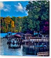 Nature Landscapes Around Lake Wylie South Carolina Canvas Print
