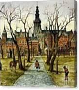 nature Rien Poortvliet Canvas Print