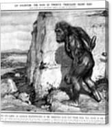 Neanderthal Man Canvas Print