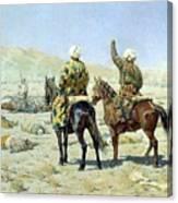 negotiators Surrender - Go to hell 1873 Vasily Vereshchagin Canvas Print