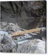 Nepal Bridge Canvas Print