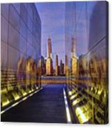 New Jersey Empty Sky 9-11 Memorial Canvas Print