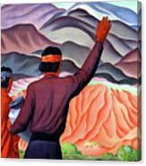 New Mexico And Arizona Rockies Canvas Print
