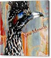 New Mexico Roadrunner Canvas Print