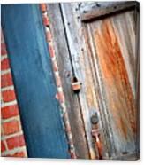 New Orleans Door 2 Canvas Print