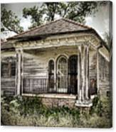 New Orleans House No. 7 Canvas Print