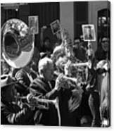 New Orleans Jazz Funeral Canvas Print