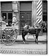 New Orleans: Milk Cart Canvas Print