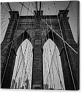 New York City - Brooklyn Bridge Canvas Print
