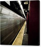 New York City Subway Canvas Print
