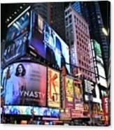 New York City Times Square Canvas Print