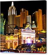 New York  New York Casino Canvas Print