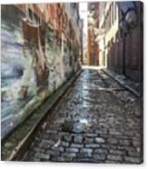 Newburyport Alley Canvas Print