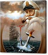 News Map Captain 2 Or Sea Captain Canvas Print