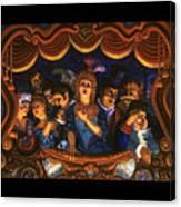 Night At The Paris Opera Canvas Print