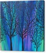 Night Beauty Canvas Print