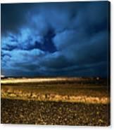 Icelandic Night  Canvas Print