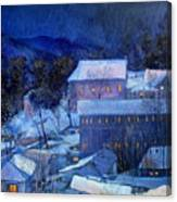 Night Scene Canvas Print