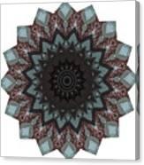 10448 Night Shift Kaleidoscope Canvas Print
