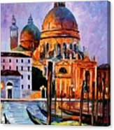Night Venice Canvas Print