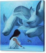 Ninia Del Mar Canvas Print