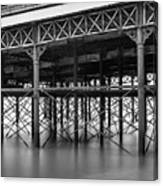 North Pier Blackpool Canvas Print