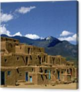 North Pueblo Taos Canvas Print