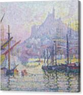 Notre Dame De La Garde, La Bonne Mere, Marseilles Canvas Print
