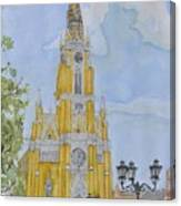 Novi Sad Cathedral Canvas Print