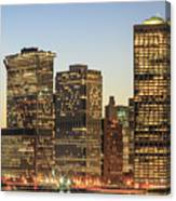 Ny Downtown Canvas Print