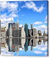 Ny East River Canvas Print