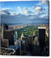 NYC Central Park Canvas Print