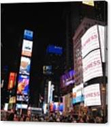 Nyc Times Square Canvas Print