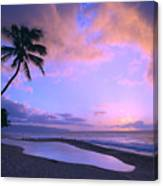 Oahu, North Shore Canvas Print