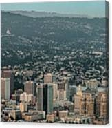 Oakland California Skyline Canvas Print