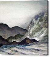 Ocean Emotion Release Canvas Print