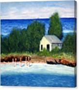 Ocean Shack Canvas Print