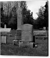 Odd Fellows Cemetery Canvas Print