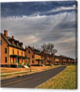 Officer's Row At Sandy Hook  Canvas Print