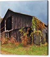 Ohio Barn In The Fall Canvas Print