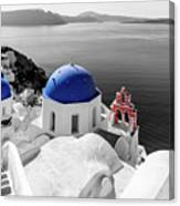 Oia, Santorini / Greece Canvas Print