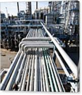 Oil Refinery Overall View Canvas Print
