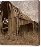 #210 Old Barn Canvas Print