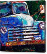 Old Chevy Truck Canvas Print