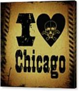 Old Chicago Canvas Print