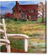 Old Home  Canvas Print