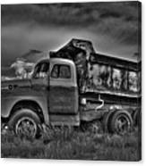 Old International - Bw 2 Canvas Print