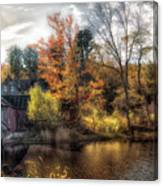 Old Mill Boards Canvas Print