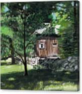 Old Redding Road, Aspetuck Canvas Print