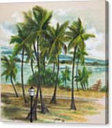 Old San Juan - Morro Canvas Print